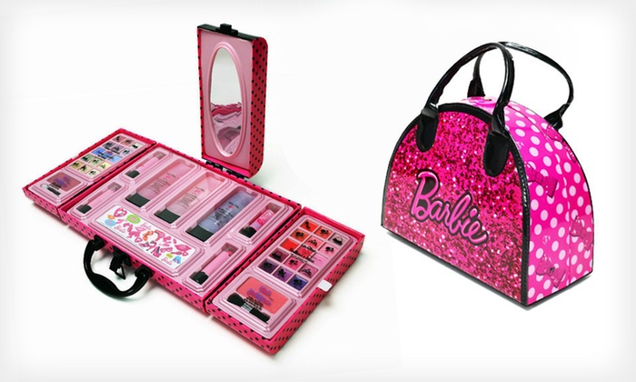 Barbie Makeup Case Groupon Goods