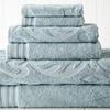Egyptian Cotton Jacquard Medallion Swirl 6-Piece Towel Sets