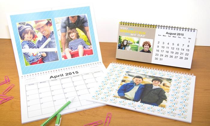 York Photo: Custom Photo Desk or Wall Calendar at York Photo (50% Off)