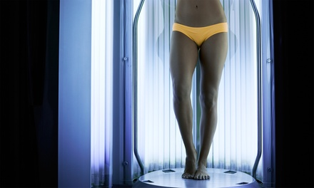 One Year of Unlimited Basic-Level UV Tanning or One Month of Unlimited Spray Tans at Glo Sun Spa (Up to 85% Off)