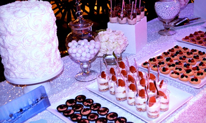 Sweet Escape - Pembroke Lakes: Dessert Bar for 25 or 50 with Set-Up and Delivery from Sweet Escape (65% Off)