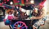 Pedal Wagon- All Locations (Cinci, Cbus, Cle) - Columbus: 6- or 15-Person Party-Bike Bar Crawl from Pedal Wagon (Up to 56% Off)