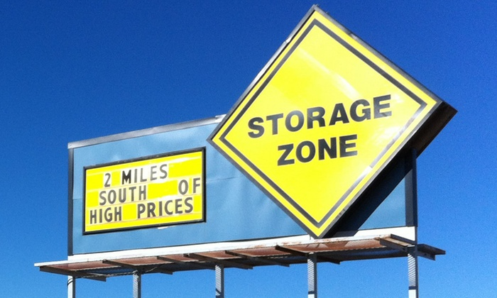 Plainview Storage Zone - Plainview: $41 for $75 Worth of Storage-Space Rental — Plainview Storage Zone