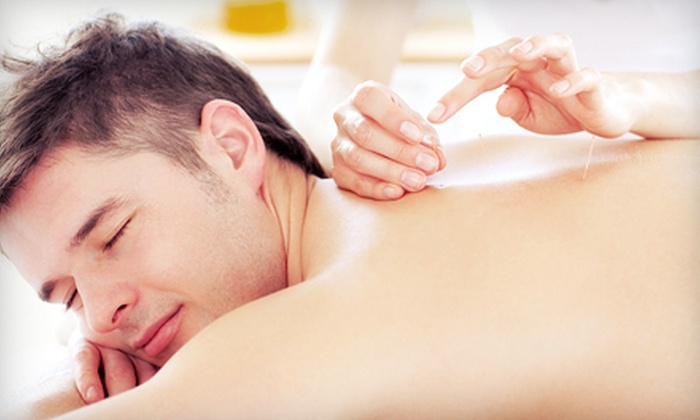 C'zar Salon-Spa - Multiple Locations: Two or Four Acupuncture Sessions with a Mini Massage, or a One-Hour Massage at C'zar Salon-Spa (Up to 78% Off)