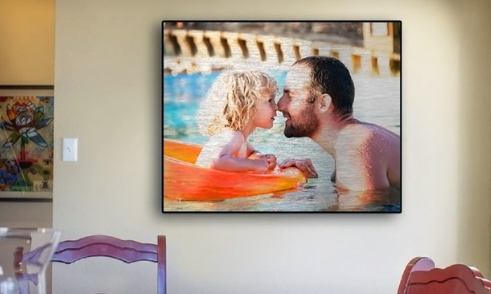 Custom Aluminum Photo Print: Custom Aluminum Photo Print from Gallery Direct (Up to 79% Off). Two Sizes Available. Free Shipping.