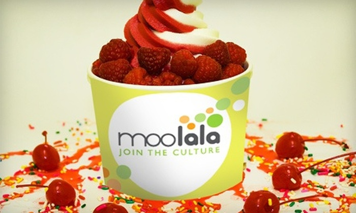 Moolala Frozen Yogurt - Port Washington: $4 for $8 Worth of Frozen Yogurt, Smoothies, and Treats at Moolala Frozen Yogurt