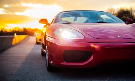 Three- or Six-Lap Lamborghini or Ferrari Agility Autocross Experience from The Motorsport Lab (Up to 82% Off)