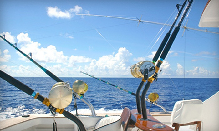 Olin Marler's Charter Fishing & Dolphin Cruises - Destin Harbor: $175 for a Fishing Charter and Dolphin Cruise for Four from Olin Marler's Charter Fishing & Dolphin Cruises ($344 Value)
