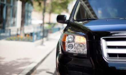 Window Tinting at Oasis Trade Window Tinting (Up to 67% Off). Two Options Available.