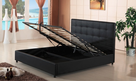 Selection of Hazlo Bed Bases from R2 799 with Optional Headboard or Ottoman Storage Including Delivery (Up to 50% Off)