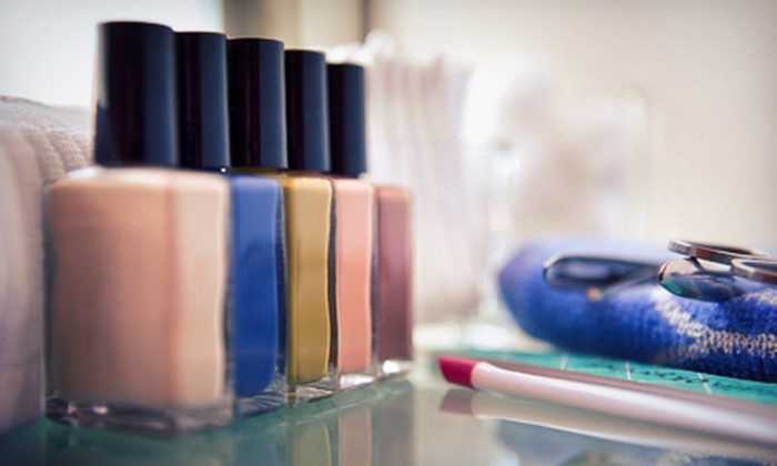 Artistic Hands - Walnut Grove - Shelby Farms PD: One or Three Shellac Manicures with Regular Pedicures at Artistic Hands (Up to 62% Off)