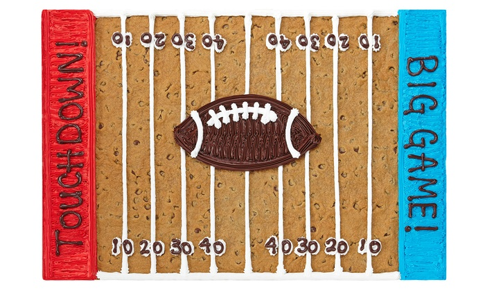 """Great American Cookies - Southpark Mall: $18.99 for 24"""" Pan-Sized Cookie Cake with Custom Writing from Great American Cookies ($36.99 Value)"""