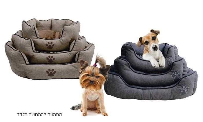 כורסאות לכלבים וחתולים מבד נעים ומפנק במבחר מידות, החל מ-69 ₪