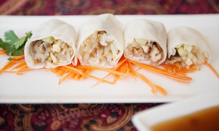 Vietnamese Food for Two or Four or $25 Worth of Takeout at VyVy Cafe (40% Off)