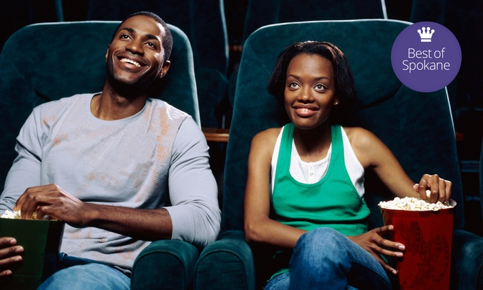 The Garland Theater - Garland District: $8 for Movie Admission for Two with One Bottomless Popcorn at The Garland Theater (Up to a $15 Value)