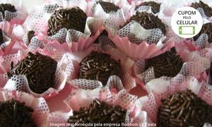 Bombom Lê Festa: Bombom Lê Festa – Setor Campinas: kit festa com 175, 300, 350 ou 600 docinhos, minicupcakes e bombons