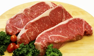 Butcher Block Meats: Prime Beef or Grillmaster Steak Pack at Butcher Block Meats (Up to 40% Off)