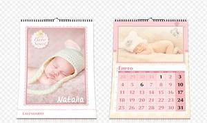 Personaliza.com: 1, 3 o 5 calendarios de pared personalizados A4 o A3 con envío gratuito desde 17,90 € en Personaliza.com