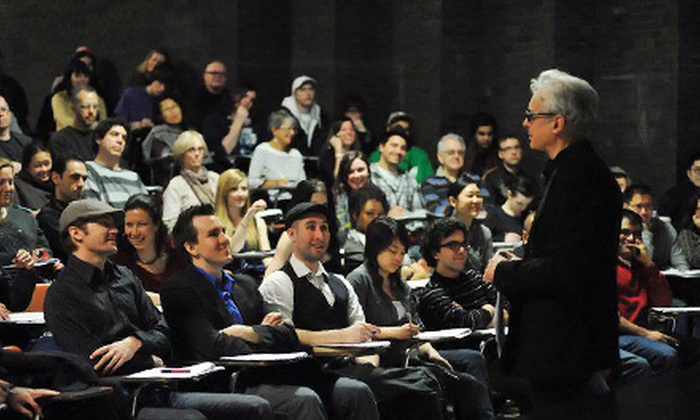Raindance Filmmaking - Toronto: $79 for a One-Day Intro to Filmmaking Course at Raindance Toronto on March 24 or July 21 ($349 Value)