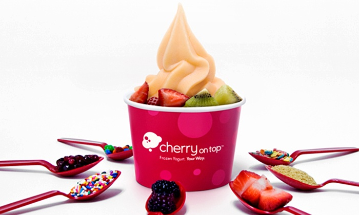 Cherry on Top - Cerritos: $12 for a Punch Card Good for Six 9-Ounce Frozen Yogurts at Cherry on Top (Up to $21.06 Value)