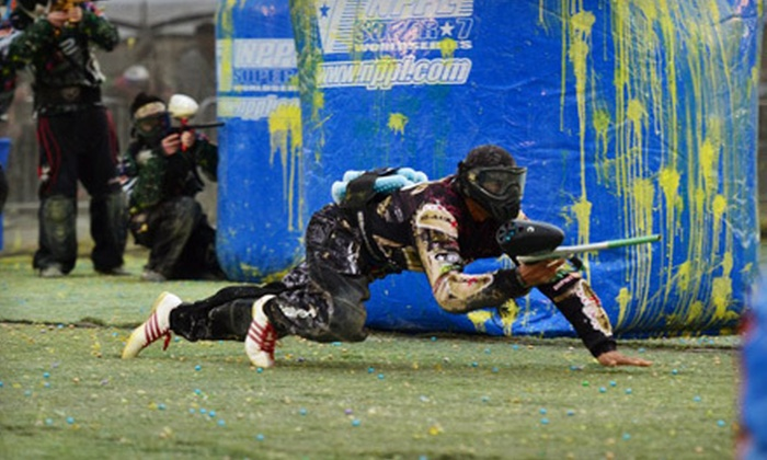 Combat Zone Paintball - Enterprise: Four-Hour Admission and Gear ($30 Value)