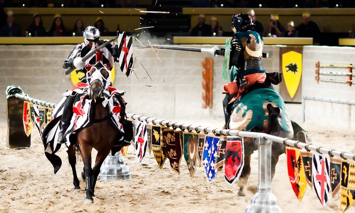 Medieval Times - Medieval Times: Knight Tournament and Feast for an Adult or Child with Optional VIP Package at Medieval Times (Up to 47% Off)