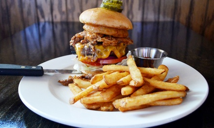 $12 for $20 Worth of American Food at Whiskey Rose Saloon