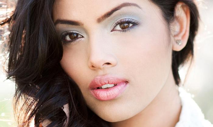 Om Threading & Beauty Bar - Sola Salons: $15 for Eyebrow, Lip, and Chin Threading at Om Threading & Beauty Bar ($30 Value)