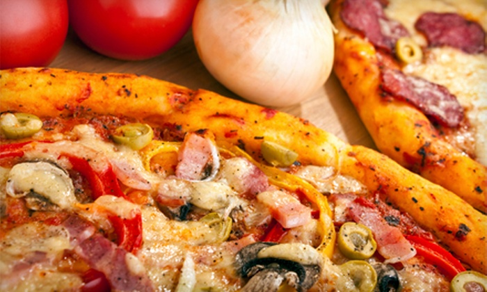 City Pizza Italian Cuisine - Cityplace: Gourmet Pizza at City Pizza Italian Cuisine (Half Off). Two Options Available.