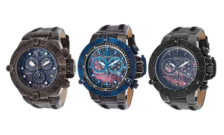 Invicta Subaqua Collection Men's Chronograph Watch with 500-Meter Water Resistance
