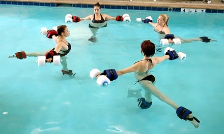5, 10, or 15 Aquatic Yoga Classes at H2yOga (Up to 55% Off)