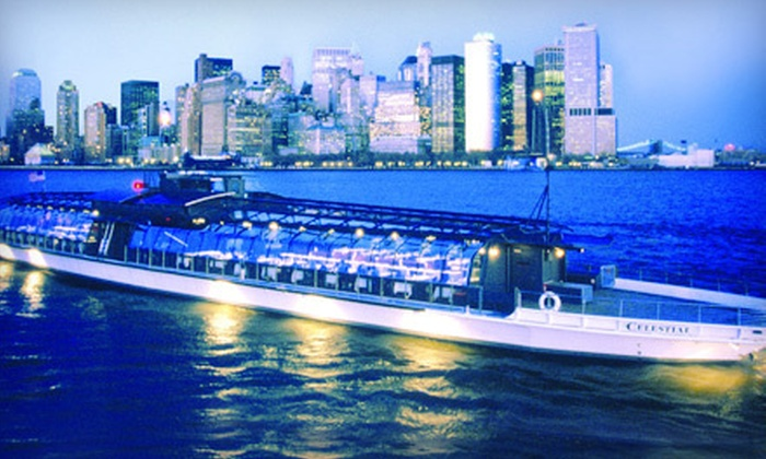 "Entertainment Cruises - Bateaux of New York: Three-Hour Dinner Cruise on the ""Bateaux New York"" from Entertainment Cruises (Up to 40% Off). Three Options Available."