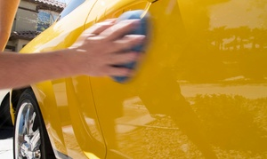 $35 For A Car-wash Package With Exterior Washes And Rain-x Treatment At Inside-n-out Handwash ($73 Value)