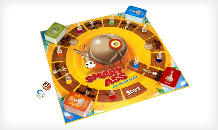 Smart Ass Trivia Board Game: $14 for Smart Trivia Ass Board Game ($24.99 List Price)