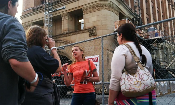 Hangman Tours - Downtown Milwaukee: The Milwauking Dead Tour with Craft Beers for Two or Four from Hangman Tours (Up to 72% Off)