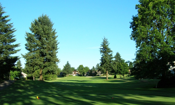 Charbonneau Golf Club - Wilsonville: 18-Hole Round of Golf for Two or Four with Range Balls and Soft Drinks at Charbonneau Golf Club (Up to 41% Off)