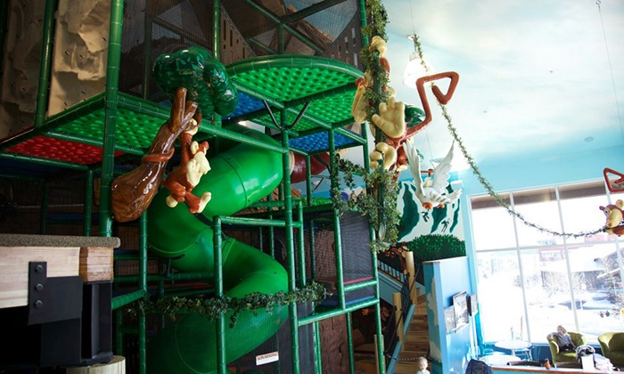 Monkey Mountain - Park City: One or Three Drop-in Playground Visits for Children Aged 3–12 at Monkey Mountain (Up to 54% Off)