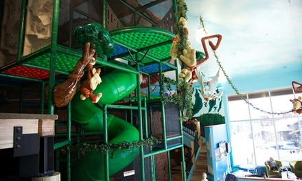 One or Three Drop-in Playground Visits for Children Aged 3–12 at Monkey Mountain (Up to 54% Off)