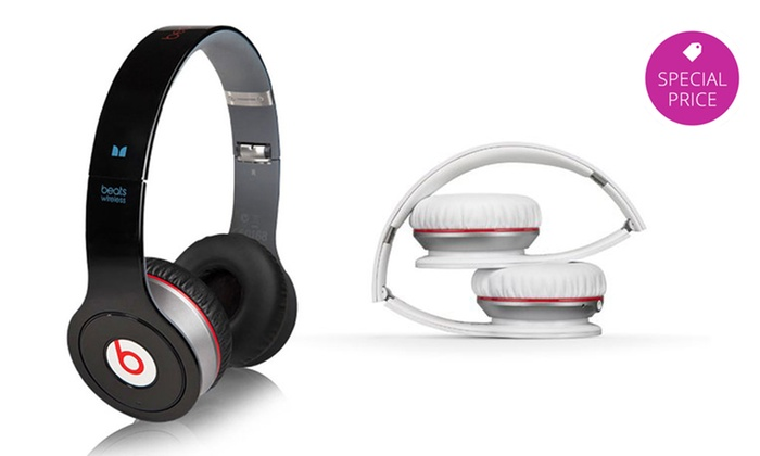 Beats by Dre Wireless Bluetooth On-Ear Headphones: Beats by Dre Wireless Bluetooth On-Ear Headphones in Black or White.
