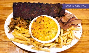 Rub BBQ Pub: Barbecue and Drinks at Rub BBQ Pub (Up to 40% Off). Two Options Available.
