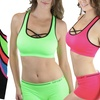 Criss-Cross Padded Sports Bras (5-Pack) or Matching Boyshorts (6-Pack)