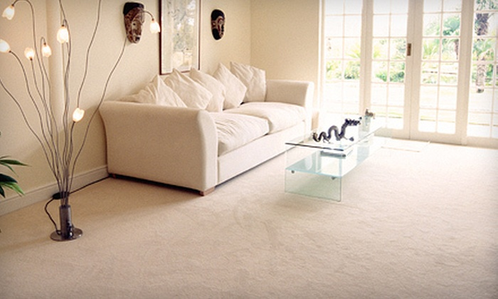 Steam Pro Cleaning - Saskatoon: Carpet Cleaning or Two Upholstery-Cleaning Sessions from Steam Pro Cleaning (Up to 61% Off)