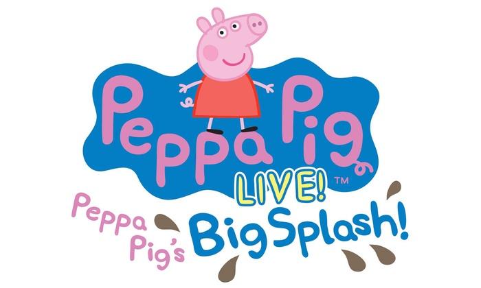 "Peppa Pig Live! Big Splash - Fox Theatre Detroit: ""Peppa Pig Live! Big Splash"" on Friday, April 1, at 6 p.m."