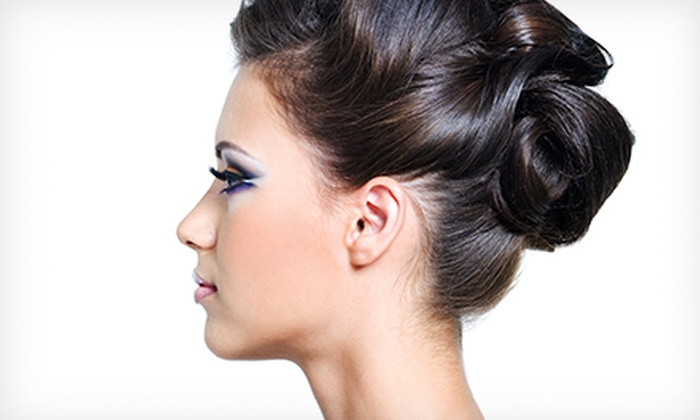 Karma Salon & Spa - Parsippany-Troy Hills: $49 for a Wedding Day or Special Occvassion Up-Do and Makeup Application at Karma Salon & Spa ($150 Value)