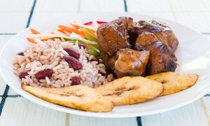 Golden Krust Caribbean Bakery and Grill: $12 for Two Small Reggaefest Chicken Combo Meals at Golden Krust Caribbean Bakery and Grill (Up to $25 Value)