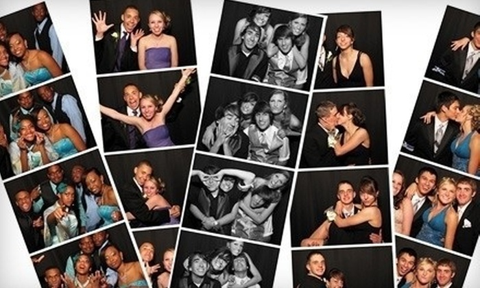 The Little Black Booth by Kemmetmueller Photography - Downtown West: $599 for Three-Hour Photo-Booth-Rental Package from The Little Black Booth by Kemmetmueller Photography ($1,399 Value)