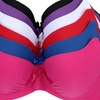 6-Pack of Ruched Microfiber Bras