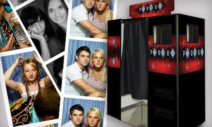 Stalnakers Photo Studio - West Salem: $349 for Four-Hour Photo-Booth Rental with Unlimited Photo Strips and Image CD from Stalnakers Photo Studio ($795 Value)