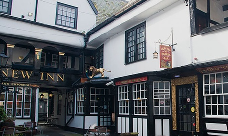 Gloucester: Double Room for Two with Breakfast and Option on Dinner at the The New Inn Hotel from The New Inn Hotel