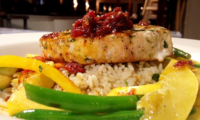 Royal River Grillhouse - Yarmouth: Seafood and Steaks at Royal River Grillhouse (Up to 51% Off). Two Options Available.